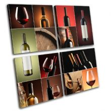 Wine collage drink food Kitchen - 13-0415(00B)-MP01-LO